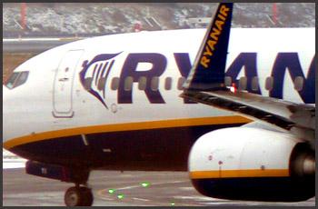 Ryanair Briseles lidostā